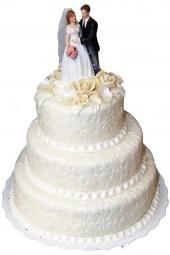 Svadobná torta, 7 kg