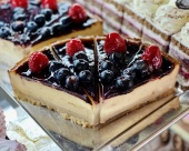 Čučoriedkový cheesecake, 120g